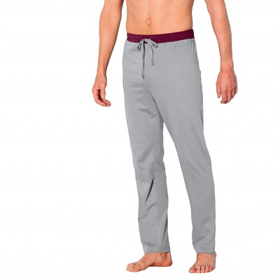 Pantalon pyjama uni bas droits - lot de 2