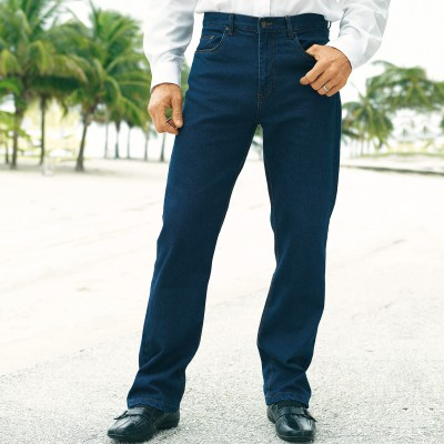 Jean 5 poches extensible coton / polyester
