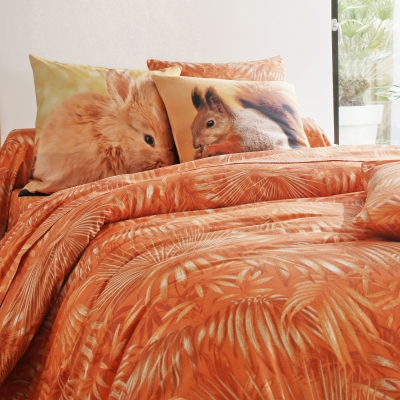 Linge de lit Tropique coton Orange: Vue 1