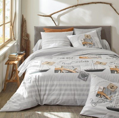 Linge de lit Nautical - coton