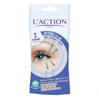 Gel liftant yeux