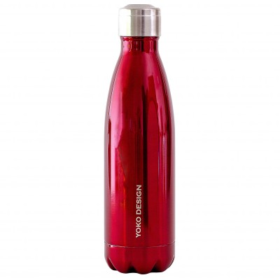 Bouteille isotherme inox 500 ml rouge