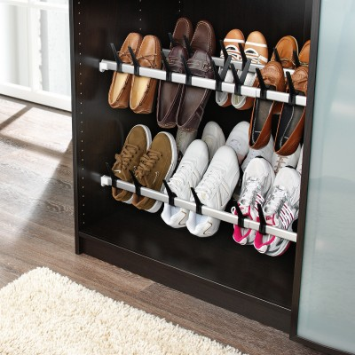 Barre porte-chaussures extensible