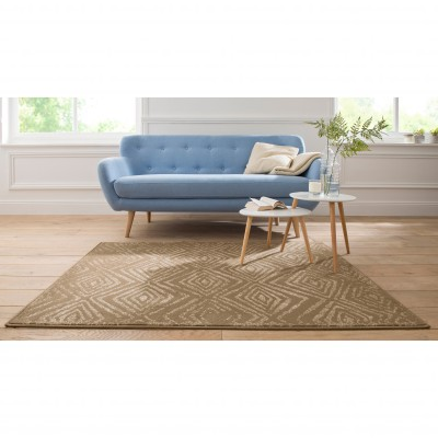 Tapis imprimé Anchor Marron: Vue 1