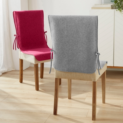 Protection de chaise antiglisse - lot de 2