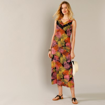 Robe imprimé tropical