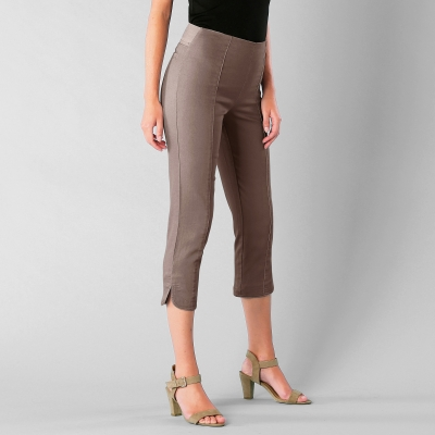 Corsaire ultra-stretch Taupe: Vue 1