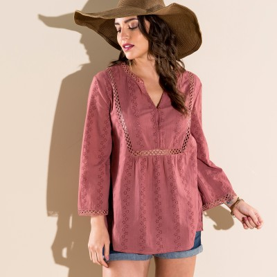 Blouse broderie anglaise Tomette: Vue 1
