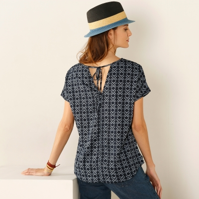 Blouse manches tombantes -