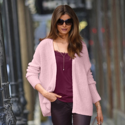 Gilet maille moelleuse toucher mohair