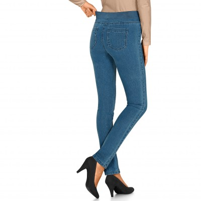 Jegging denim, grande stature Bleached: Vue 1