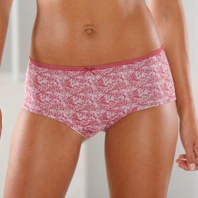 Shorty coton imprimé gamme pois - lot de 4