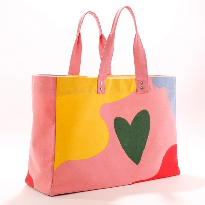 Totebag multicolore