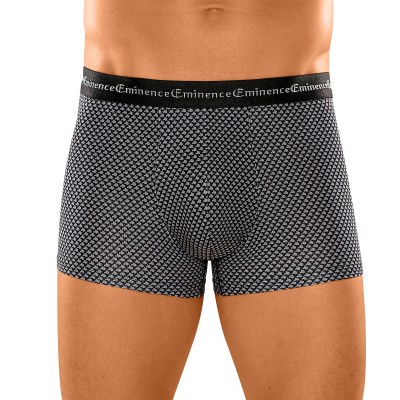 "Boxer ""Business Print"" Éminence® - lot de 3 Noir: Vue 1"