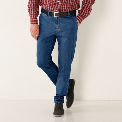 Pantalon chino denim Stone: Vue 1