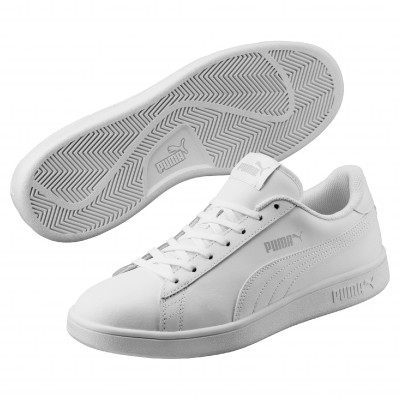 Baskets Smash V2 L Puma® Blanc: Vue 1