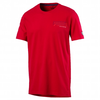 Tee-shirt manches courtes Style Athletic rouge Puma®