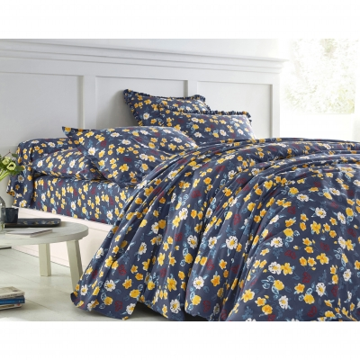 Linge de lit Betty coton Marine: Vue 2