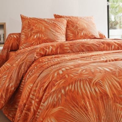 Linge de lit Tropique coton Orange: Vue 2