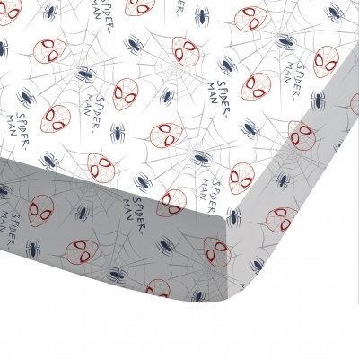 Parure de lit Spiderman Incredible coton Bleu: Vue 2