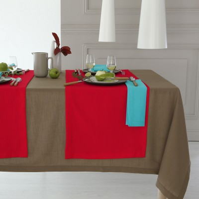 Nappe aspect lin Taupe: Vue 2