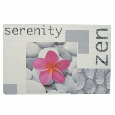 Set de table Serenity - Lot de 3 Imprimé gris: Vue 2