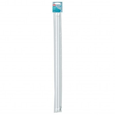 Tringle de vitrage extensible - lot de 2 Blanc: Vue 2