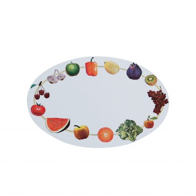 Etiquette de cuisine motif fruits - lot de 100 Fruits / légumes: Vue 2