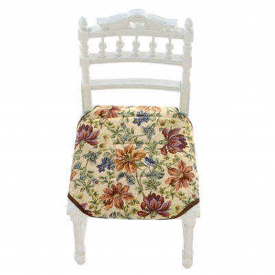 Couvre-chaise style tapisserie Fleuri: Vue 2