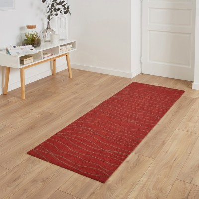 Tapis rouge toucher velours Rouge: Vue 2