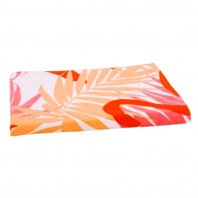 Drap de bain ou de plage Flamants Roses Orange: Vue 2