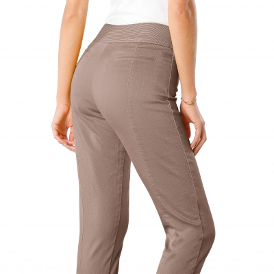 Corsaire ultra-stretch Taupe: Vue 2