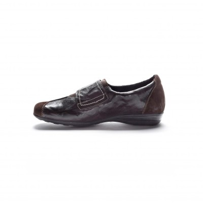 Derbies en cuir souple Marron: Vue 2