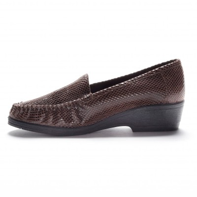 Mocassins cuir Imitation croco: Vue 2