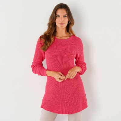 Pull lacé dos Framboise: Vue 2