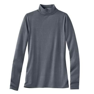 Sous-pull stretch viscose Anthracite: Vue 2