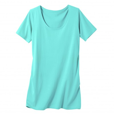 Tee-shirt long Aqua: Vue 2