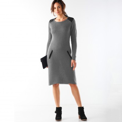 Robe pull Gris: Vue 2