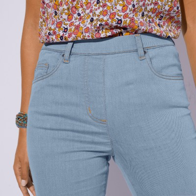 Jegging denim - grande stature Bleached: Vue 2