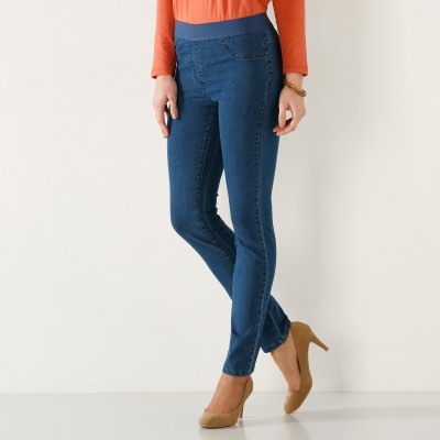 Jegging denim grande stature Stone: Vue 2