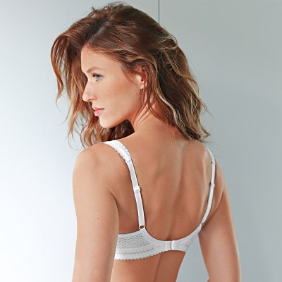 Soutien-gorge Montsouris grand maintien Montsouris - sans armatures Blanc: Vue 2