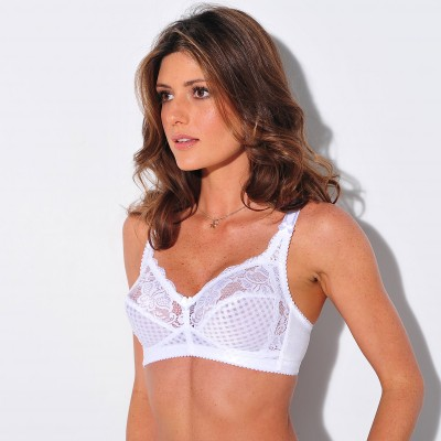 Soutien-gorge Romantic Collection - sans armatures Blanc: Vue 2
