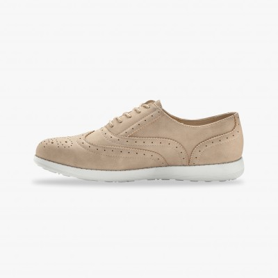 Derbies - beige Beige: Vue 2