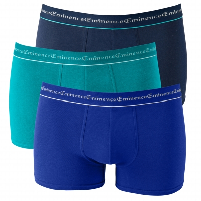 Boxer Business - lot de 3 Bleu + marine: Vue 2