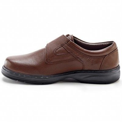 Derbies cuir Marron: Vue 2