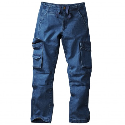 Jean battle denim stretch Stone: Vue 2
