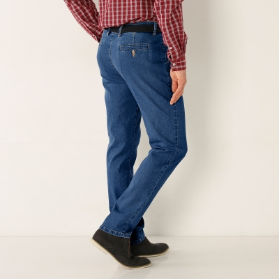 Pantalon chino denim Stone: Vue 2