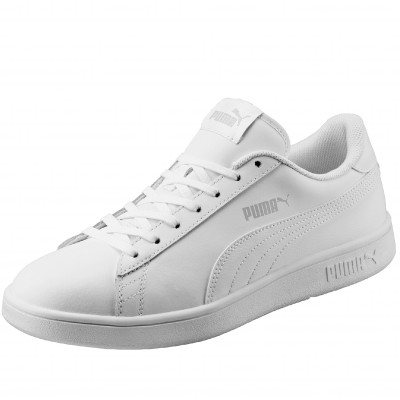 Baskets Smash V2 L Puma® Blanc: Vue 2