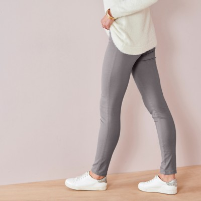 Jegging couleur ultra stretch Gris moyen: Vue 3
