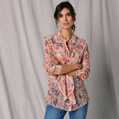Blouse broderie anglaise Blanc: Vue 3